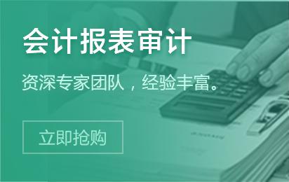 智企-PC-首页精品分类财税服务会计报表审计